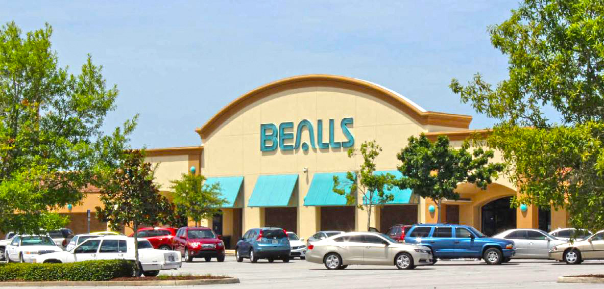 Beall's was founded in , Florida. The store consists of two chains including the Beall's department store and Beall's outlet with Beall's Inc being the parent company.